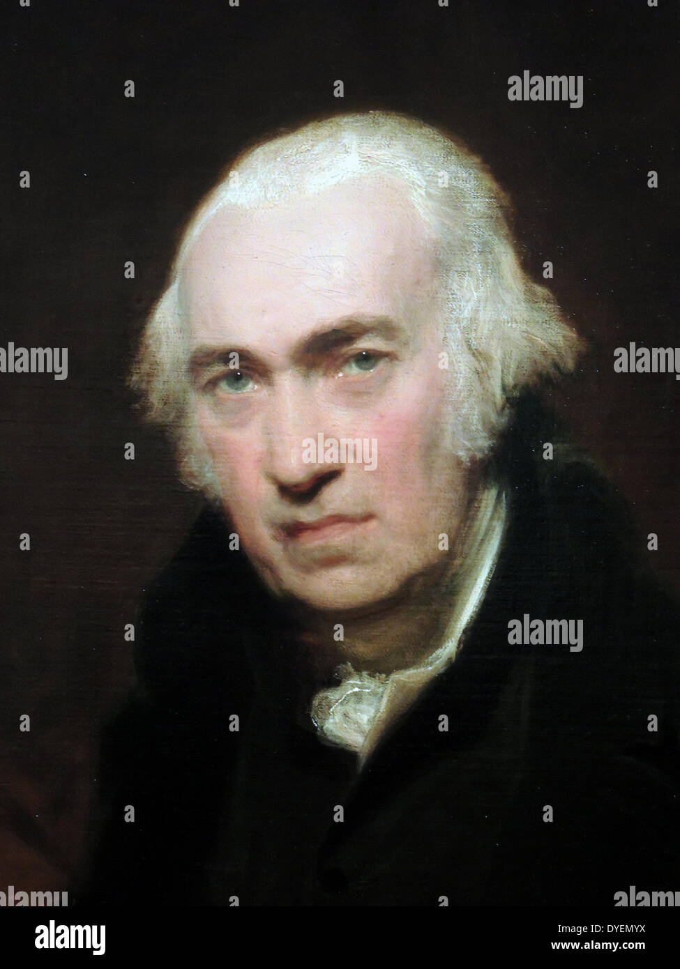 Portrait of James Watt, 1812 by Sir Thomas Lawrence (1769-1830).  Oil on canvas.  James Watt - Stock Image