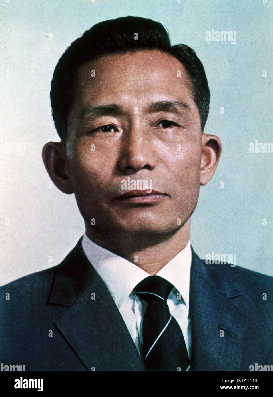 Park Chung-hee Korean general and statesman who led South Korea from 1961 until his assassination in 1979. - Stock Image