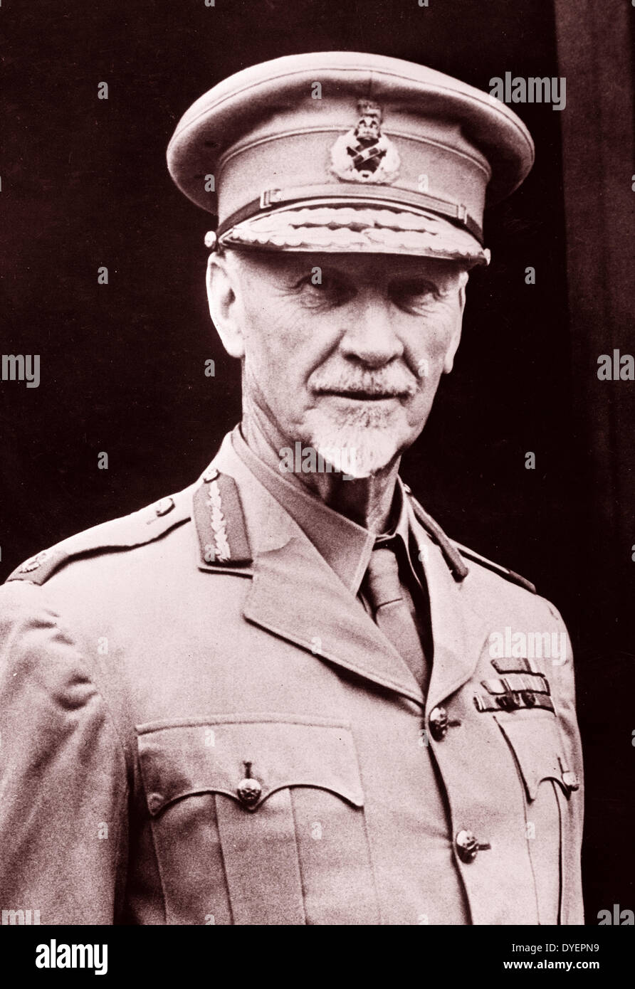 Jan Christiaan Smuts, (1870-1950) A prominent South African and British Commonwealth statesman, - Stock Image