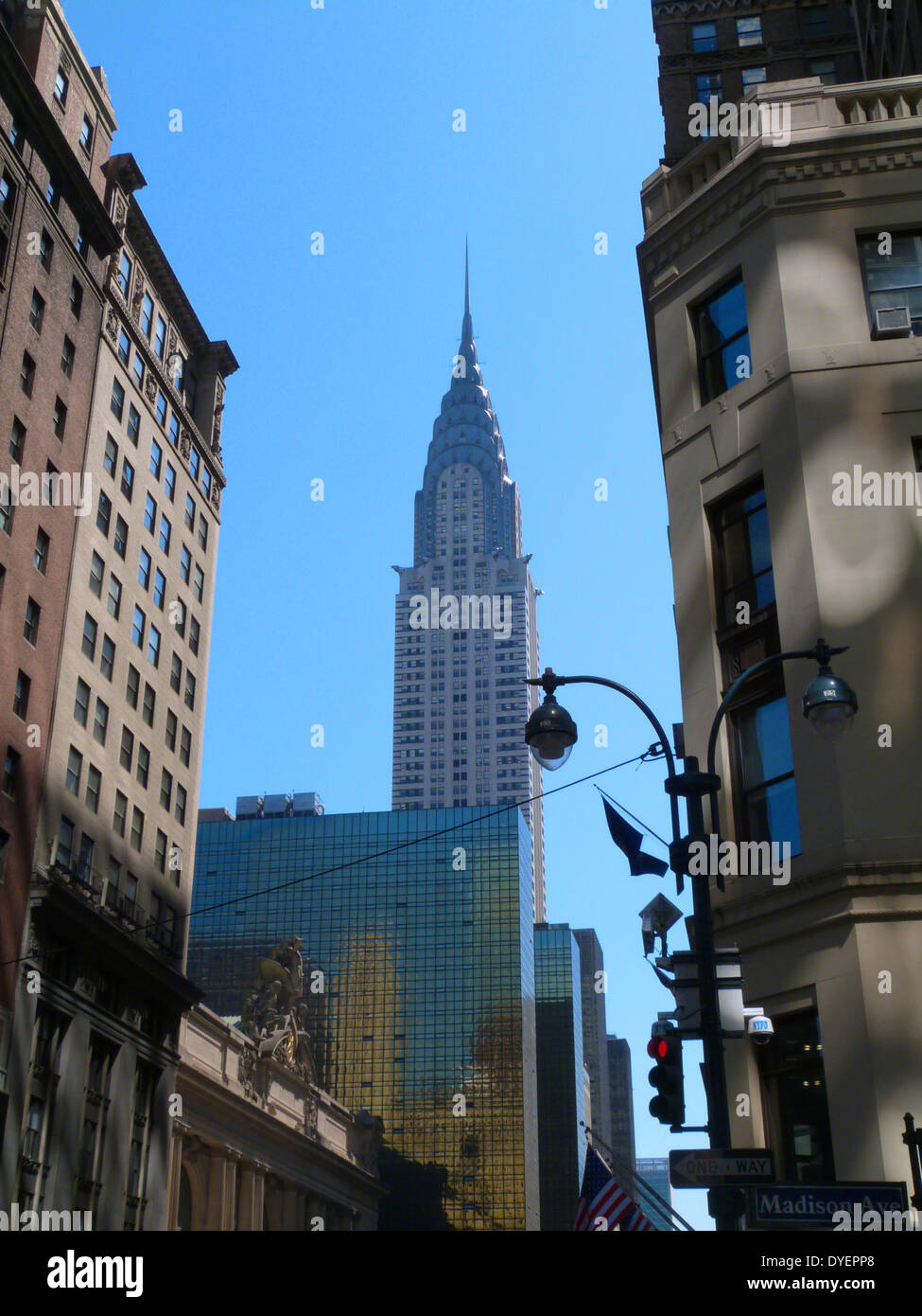 The Chrysler Building is an Art Deco style skyscraper in New York ...