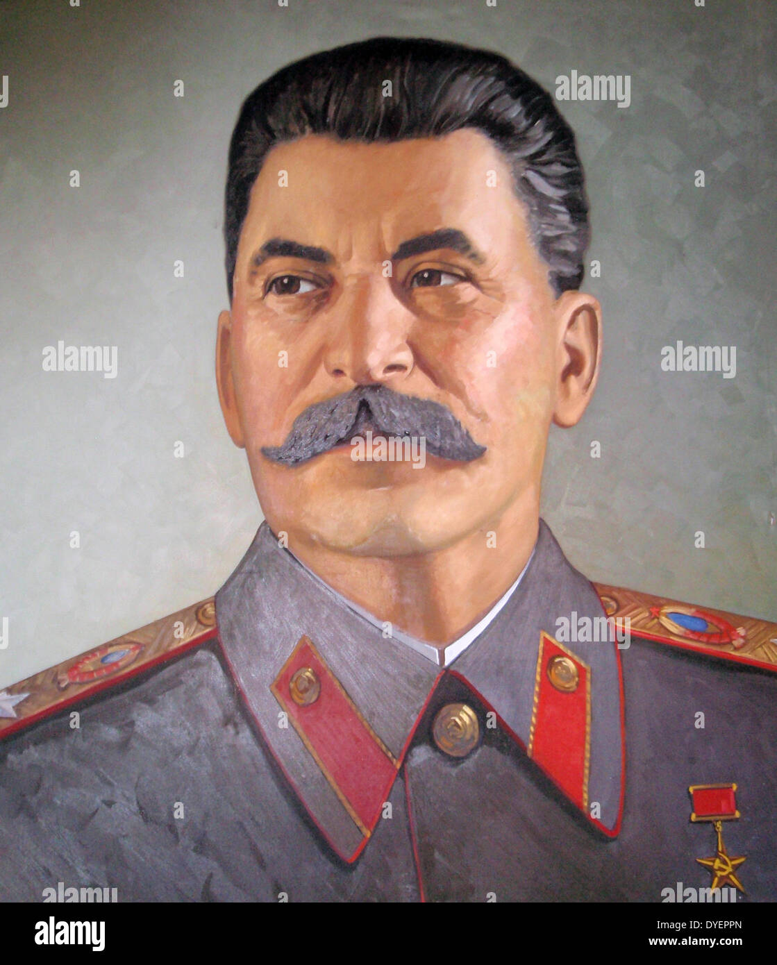 Joseph Stalin, leader of the Soviet Union from the mid-1920s until his death in 1953. - Stock Image