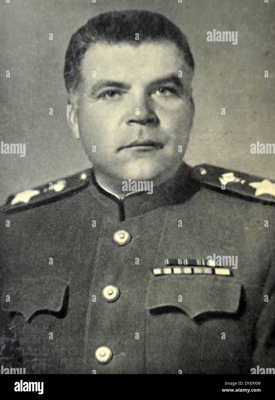 Rodion Yakovlevich Malinowski ( 1898 –  1967). Soviet military commander - Stock Image