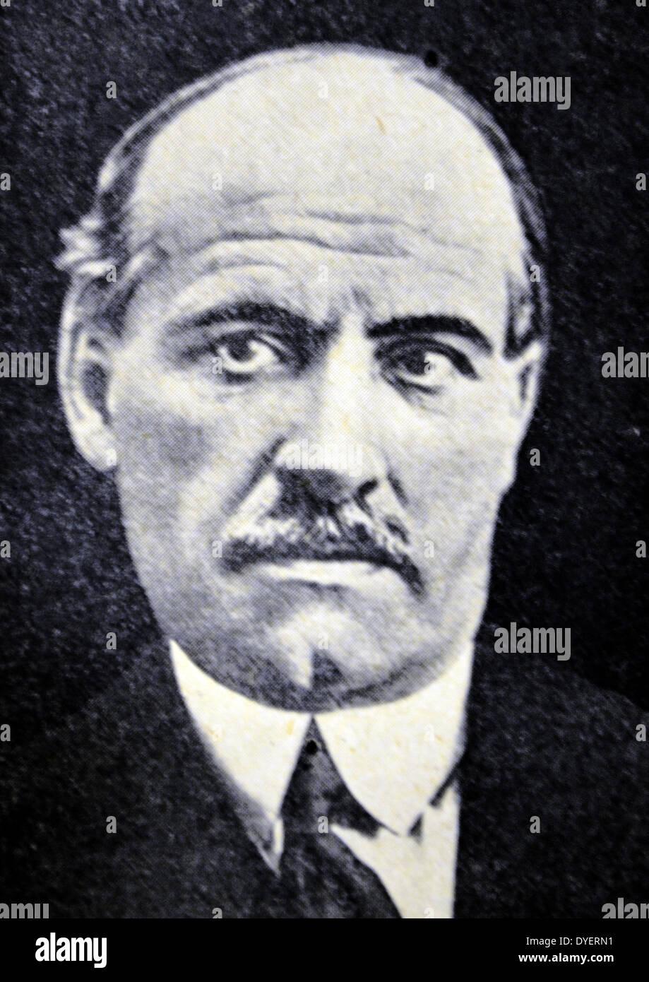 Spanish Civil War Don Jose Ortega Y Gasset Stock Photo