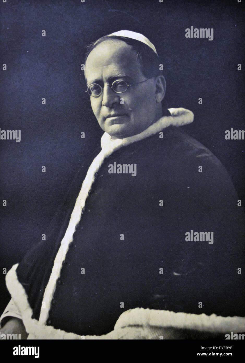 Pope Pius XI Stock Photo