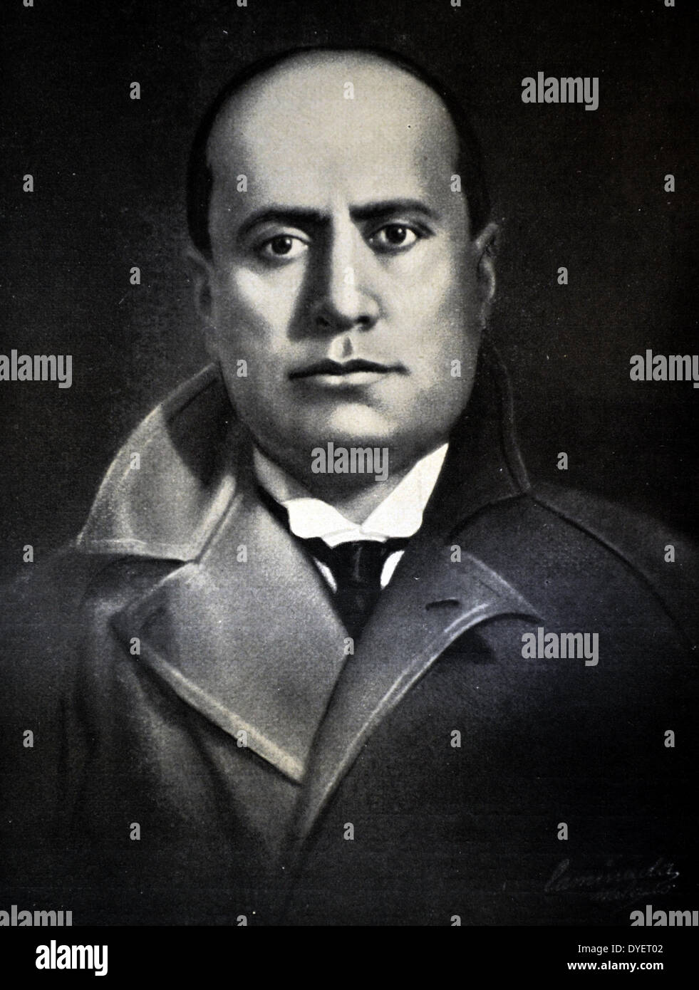 """a biography of benito mussolini the prime minister of italy during 1922 """"mussolini was deposed by a revolt within his own fascist grand council, and victor emmanuel iii, the king of italy, who had been reduced to a figurehead by mussolini, appointed marshal badoglio to be the new prime minister"""" (biography."""