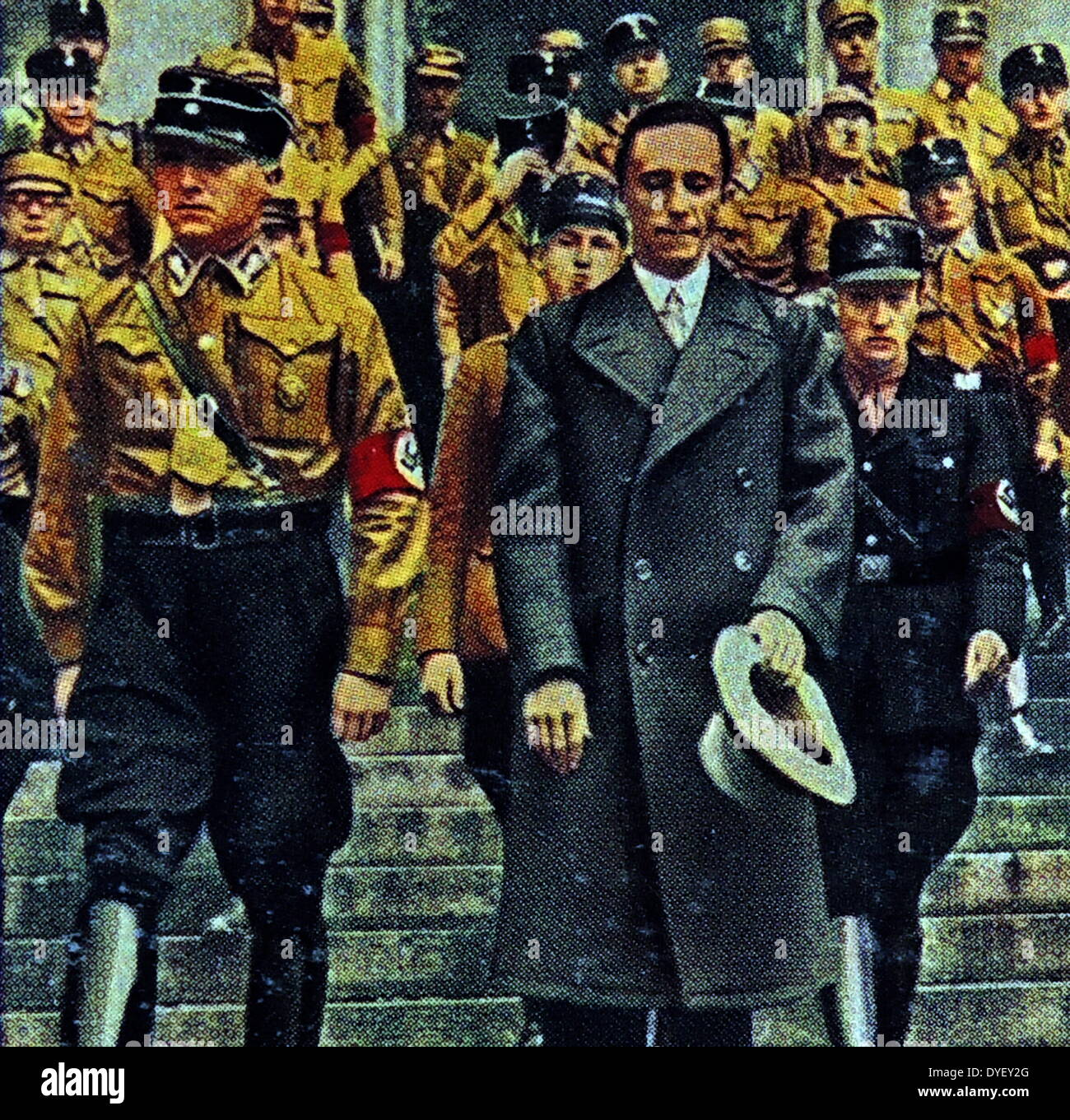 a biography and life work of paul joseph goebbels a german politician Paul joseph goebbels (often pronounced/ˈɡɜrbəlz/ in english, german: [ˈɡœbəls] 29 october 1897 – 1 may 1945) was a german politician and the reich minister of propaganda in nazi germany from 1933 to 1945.