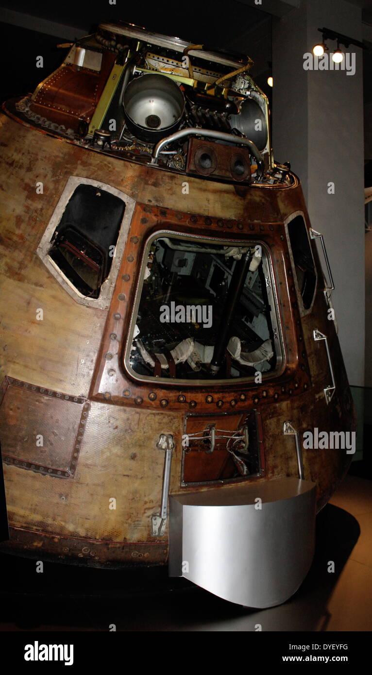 Apollo 10 Command Module. - Stock Image