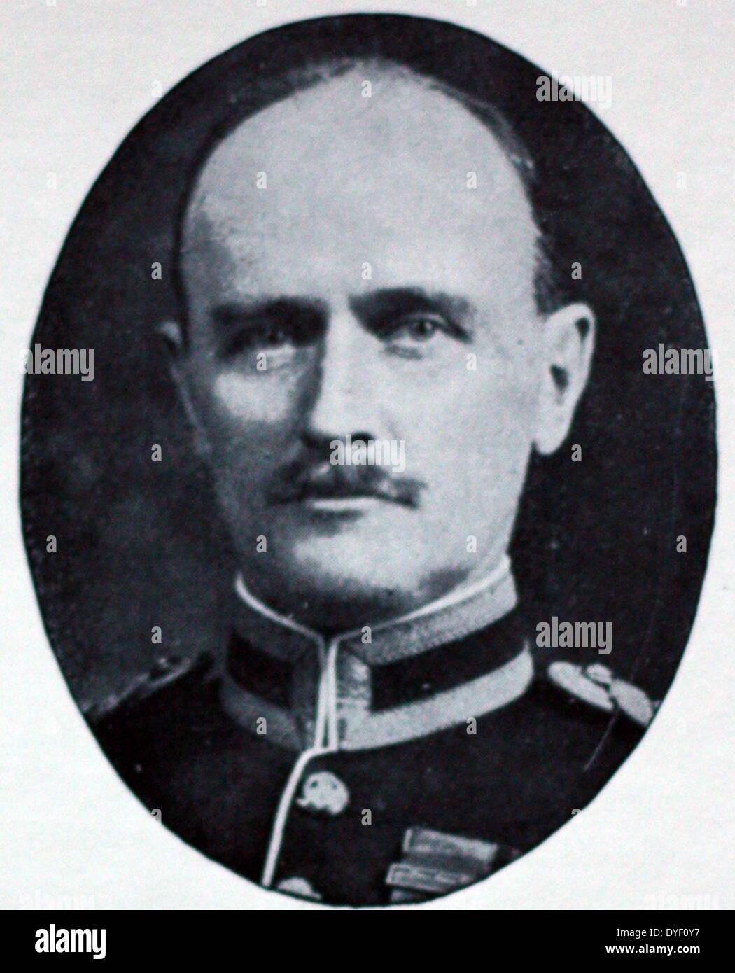 Portrait photograph of Edmund Allenby - Stock Image
