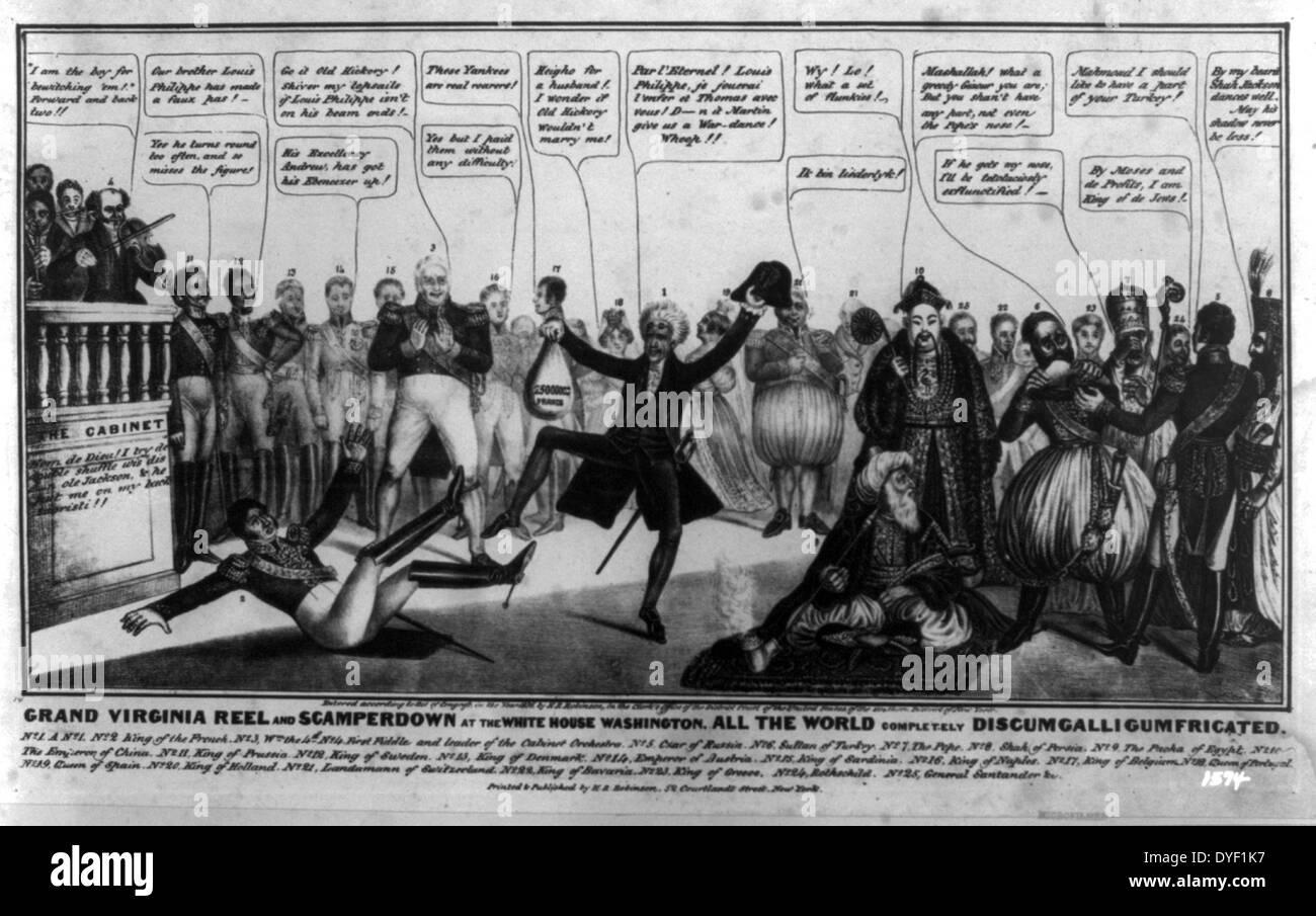 Andrew Jackson Cartoon Stock Photos & Andrew Jackson ...