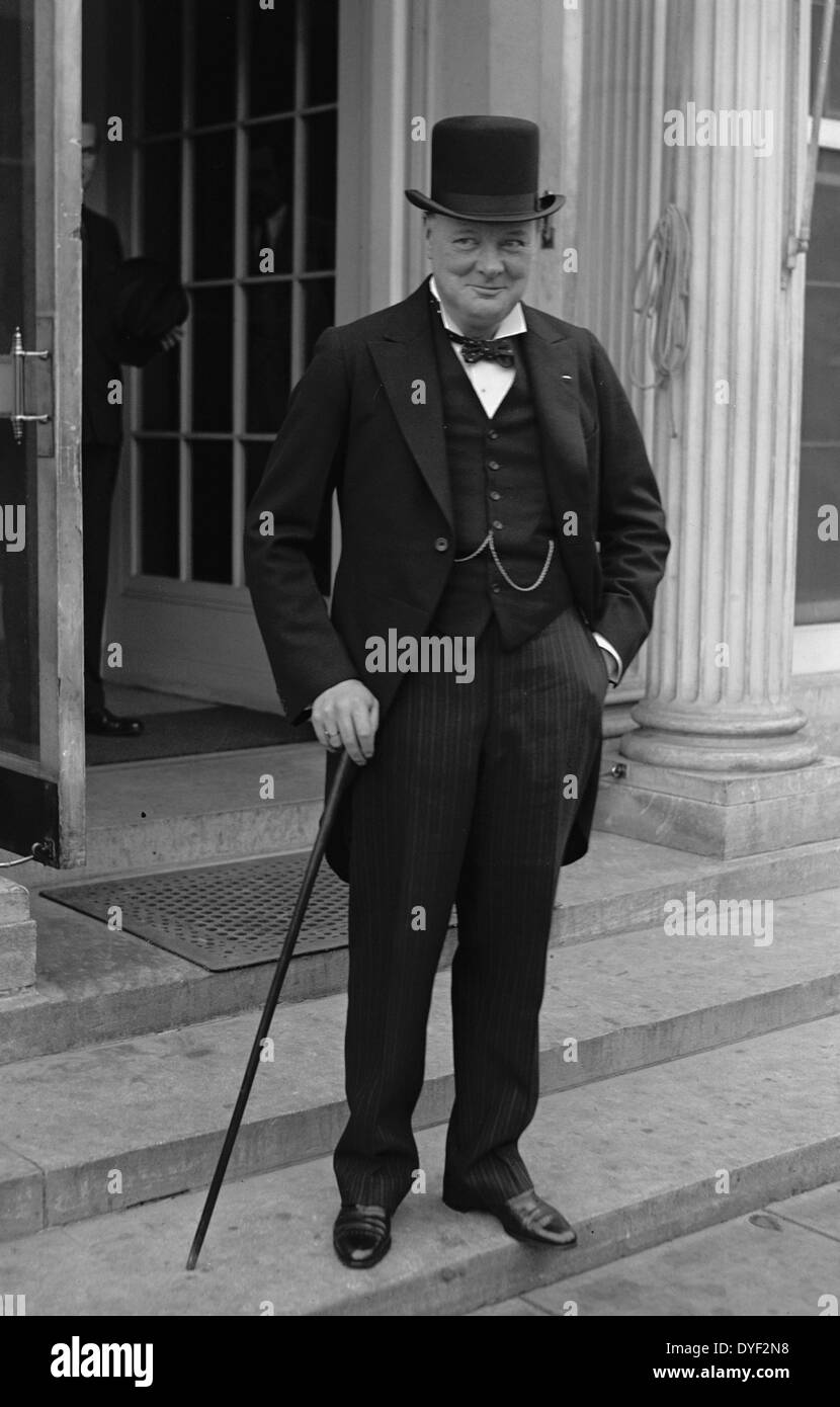 Winston Churchill dated 1929. - Stock Image