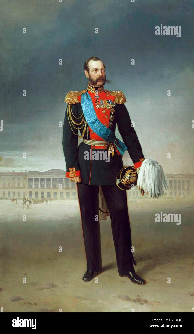 Emperor Nikolai Aleksandrovich 1894. - Stock Image