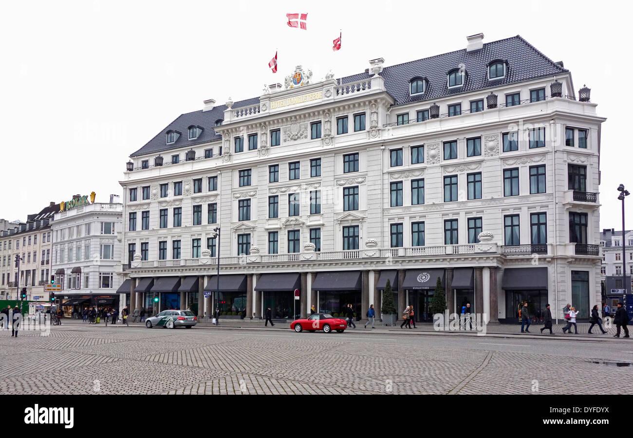 Hotel D'Angleterre at Kongens Nytorv in Copenhagen Denmark - Stock Image