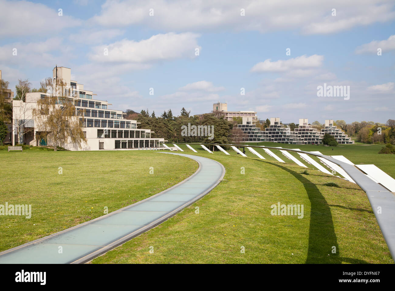 University of east Anglia buildings - Stock Image
