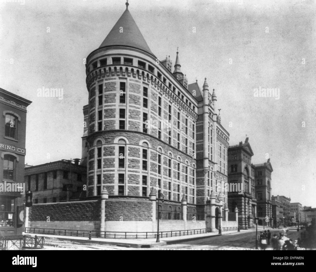 City Prison, New York City, 1904 - Stock Image