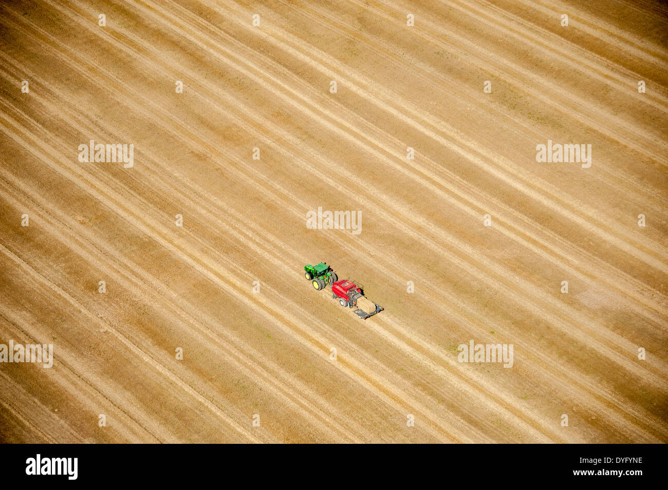 Aerial photos of eastern shore farms - Stock Image