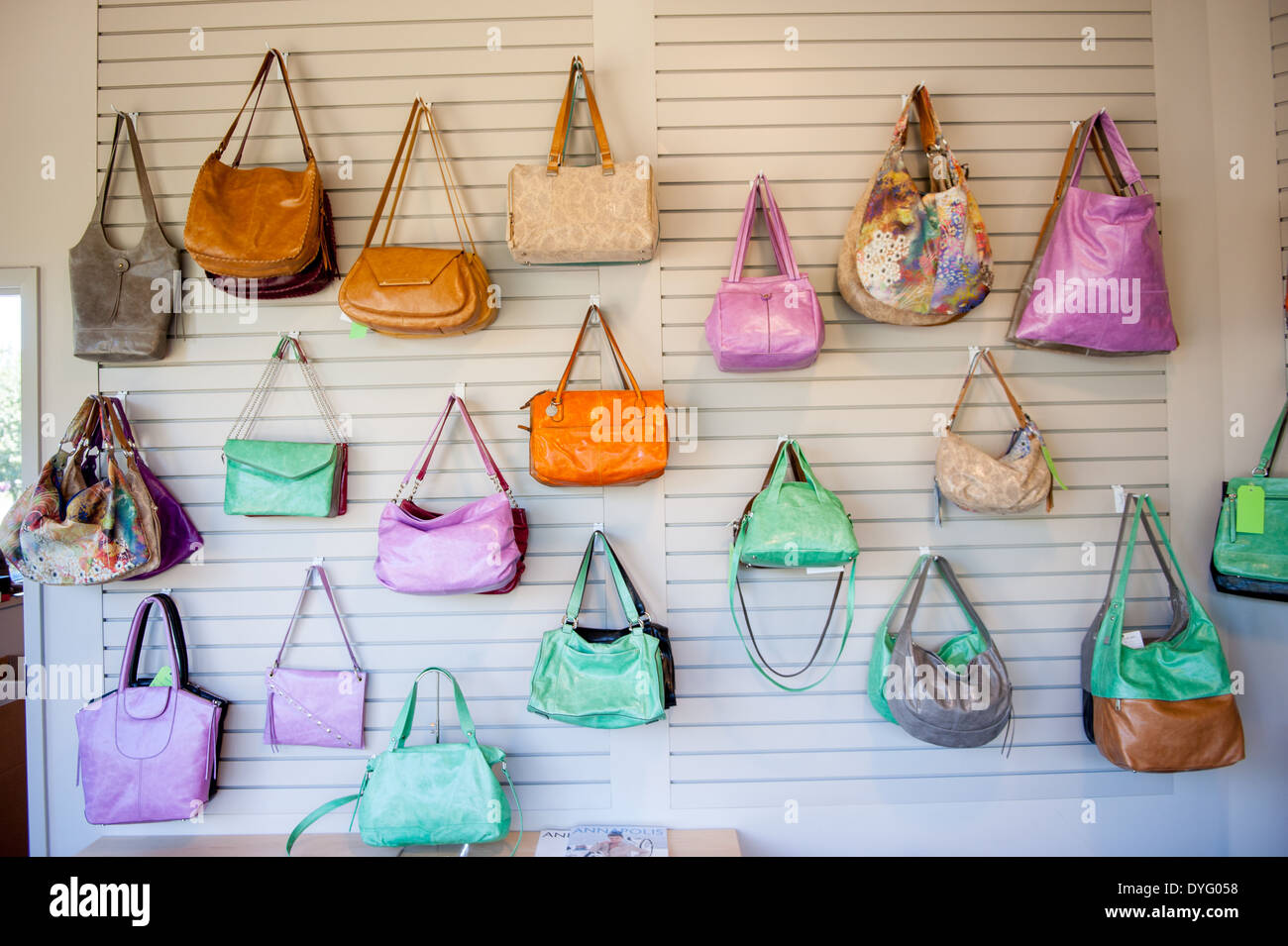 Wall of bags Annapolis Junction MD - Stock Image
