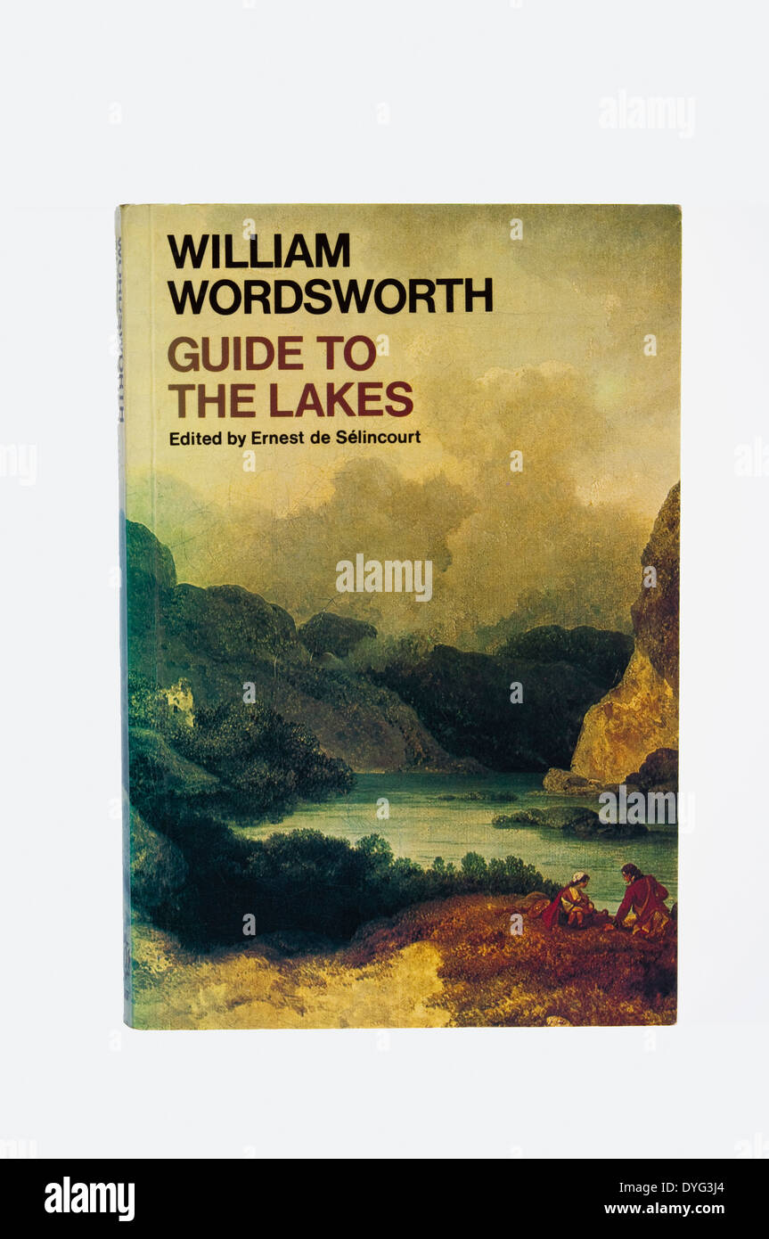 William Wordsworth Guide to The Lakes.The 1835 edition, reprinted as shown, by Oxford University Press as a paperback in 1977.UK - Stock Image