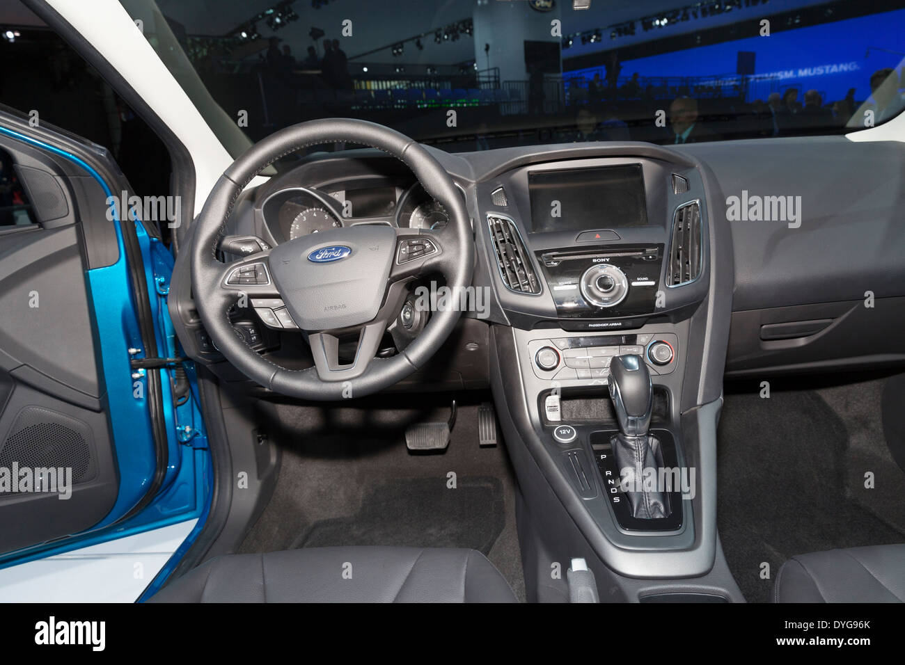 New York Ny April 16 2014 Interior Design Of Ford Focus Edition