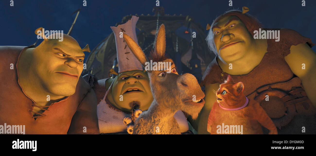 Shrek Forever After 2010 Mike Mitchell Dir Moviestore Collection Stock Photo Alamy