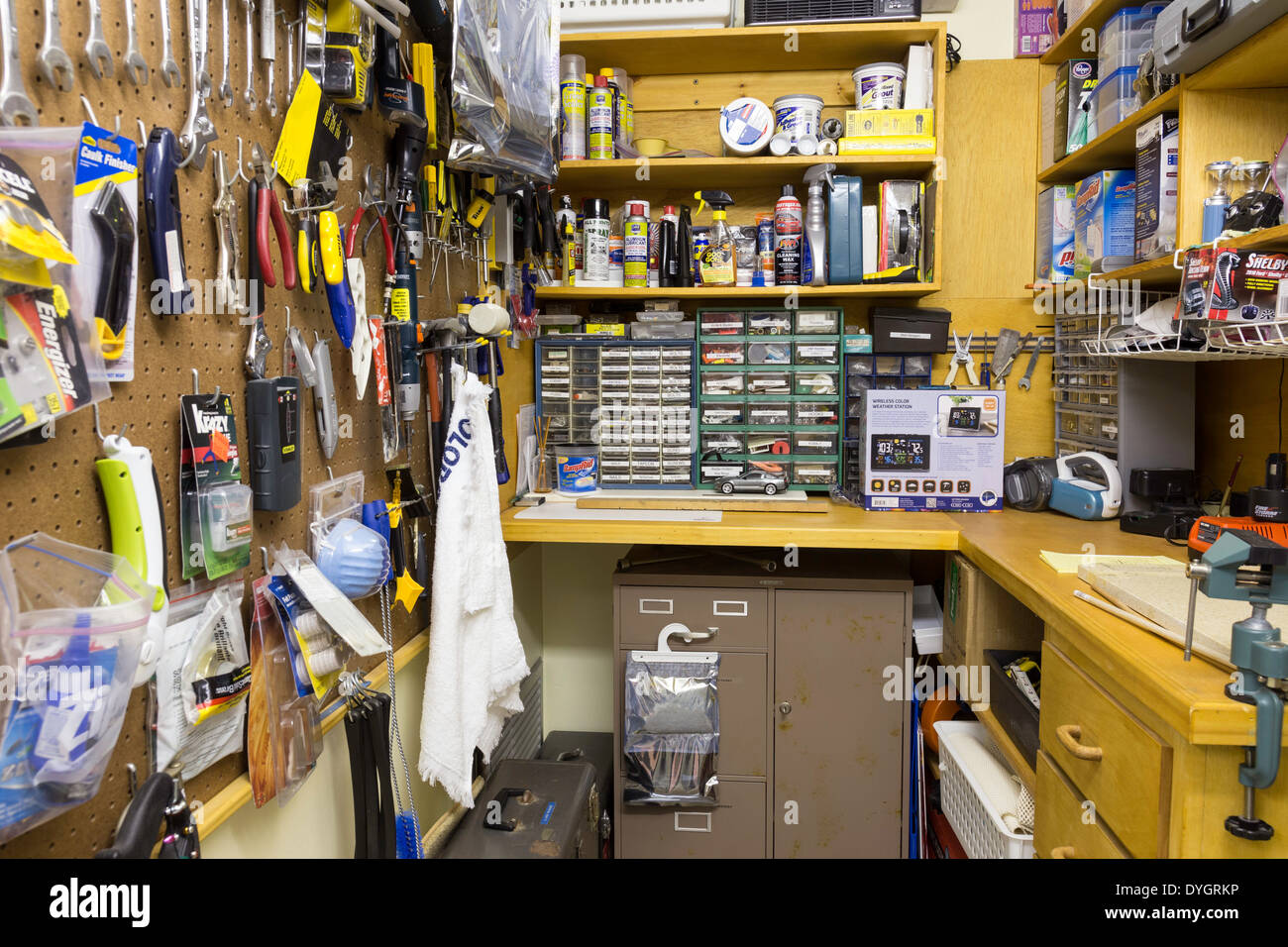 home workshop private residence usa stock photo 68596634 alamy rh alamy com home workshop storage home workshop storage