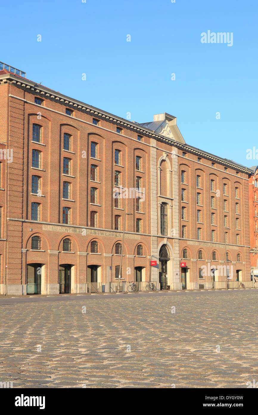 The Felix archive in Antwerp, Belgium - Stock Image
