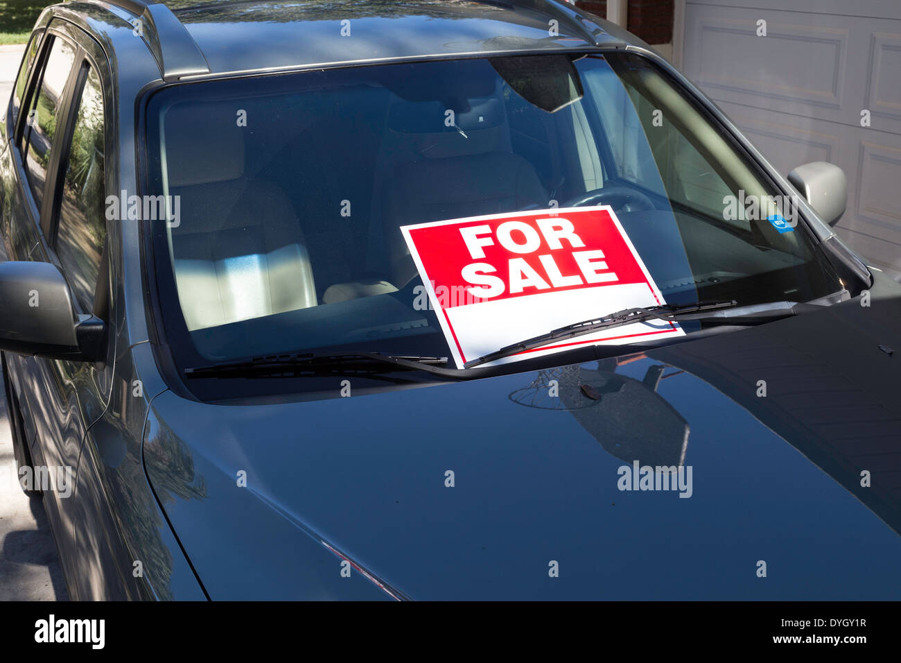 Used Car For Sale By Owner Usa Stock Photo 68599267 Alamy