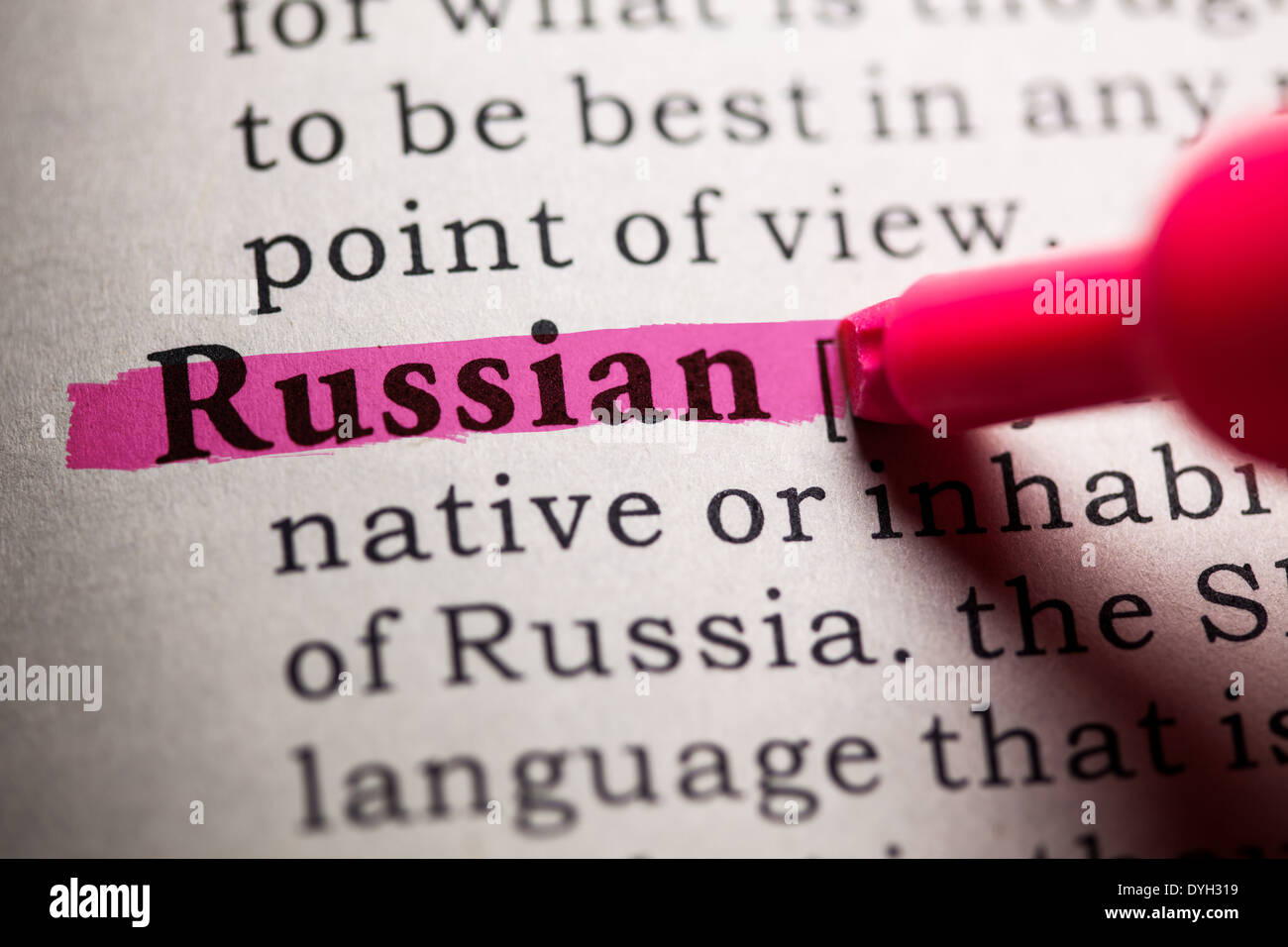 Russian Word Stock Photos & Russian Word Stock Images - Alamy