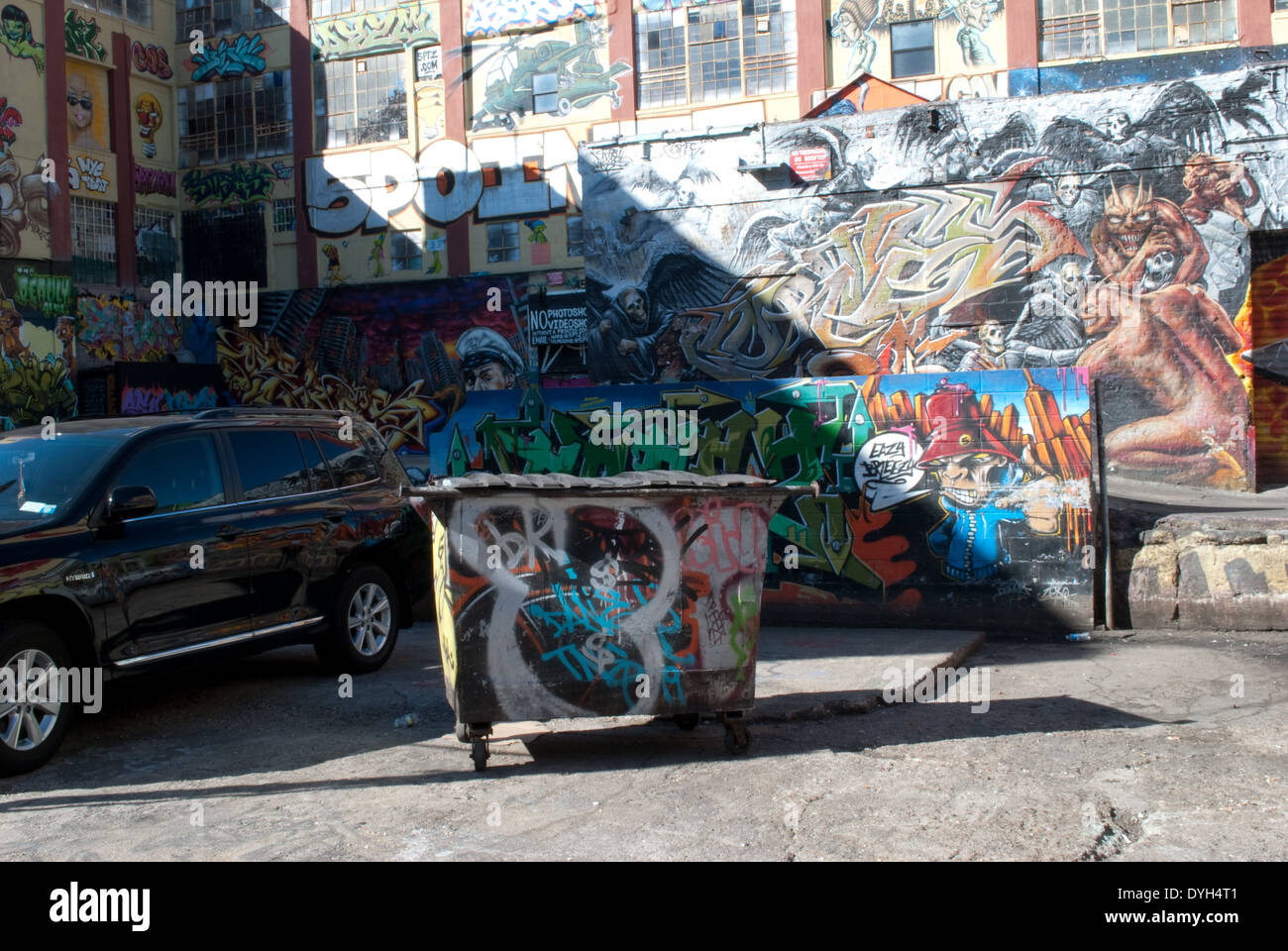 Graffiti - Stock Image