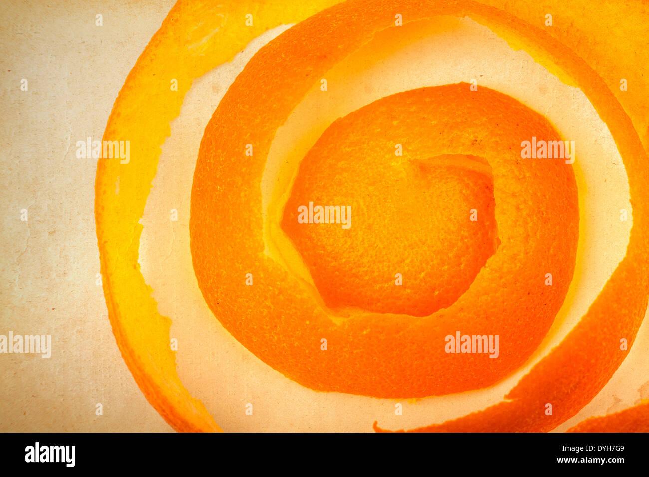 orange peel - Stock Image