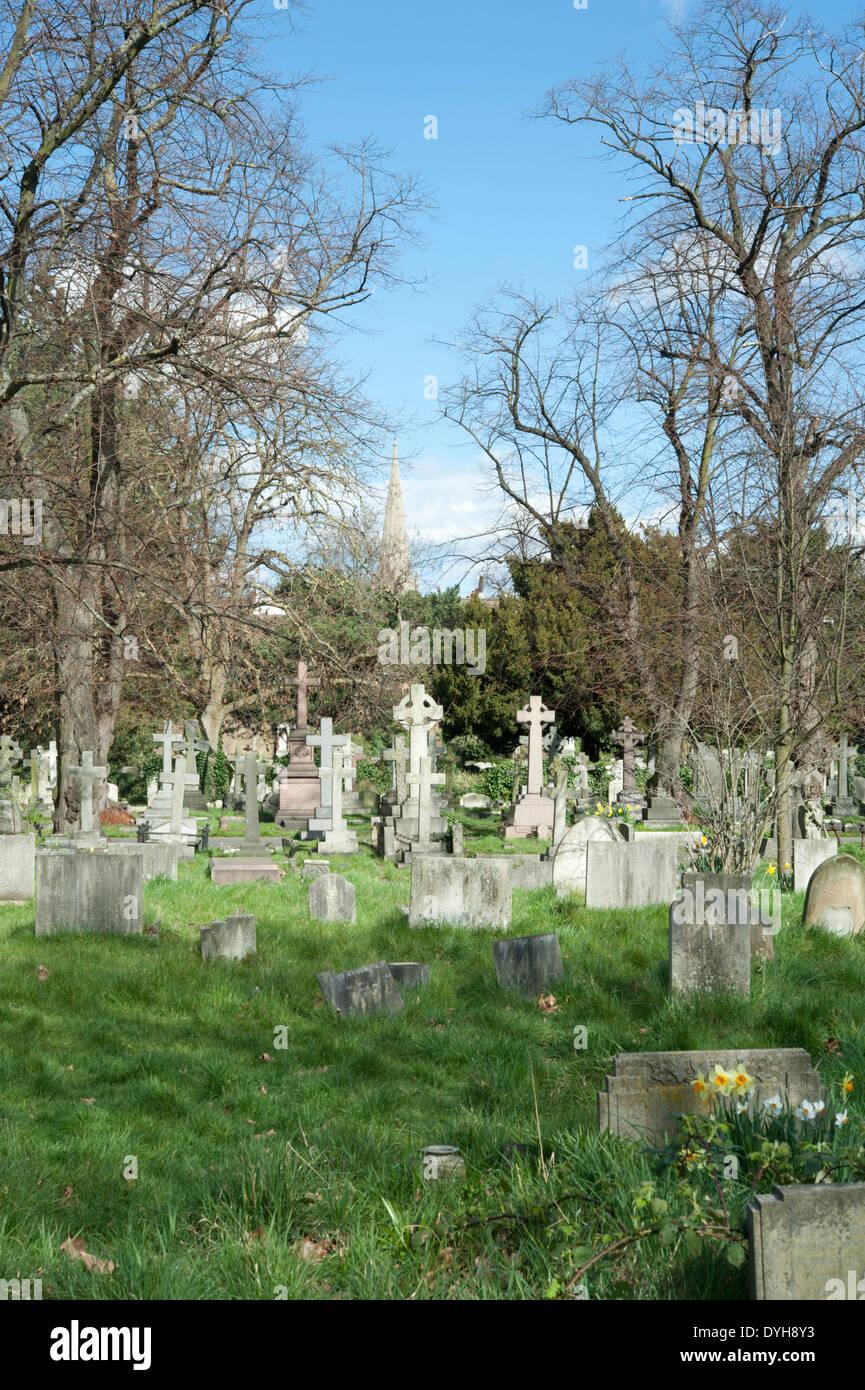 Brompton Cemetery, Royal Borough of Kensington and Chelsea, London, UK. Stock Photo