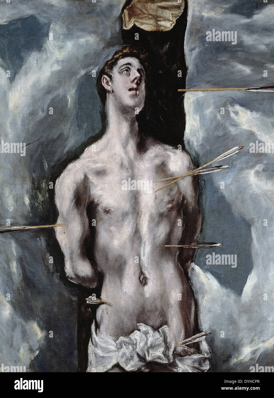 El Greco Saint Sebastian - Stock Image