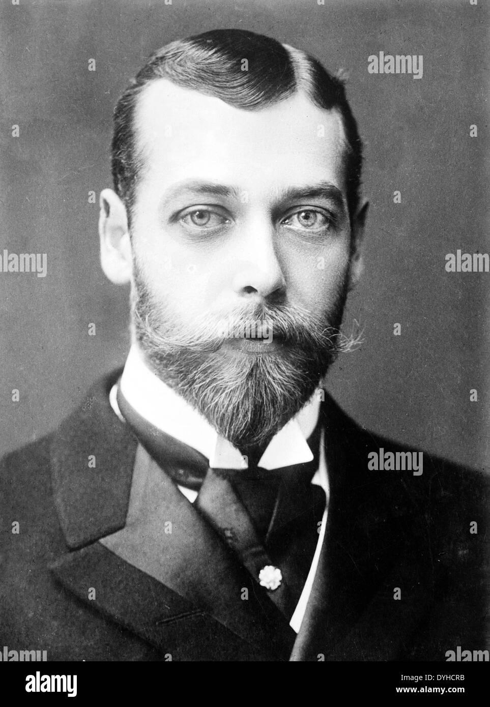 KING GEORGE V (1865-1936)  in 1893 - Stock Image