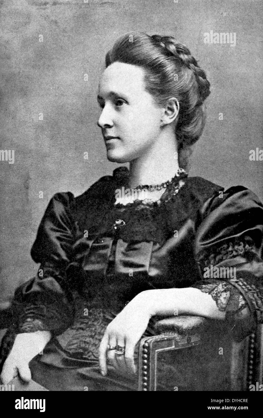 MILLICENT FAWCETT (1847-1929) English suffragist in May 1913 - Stock Image