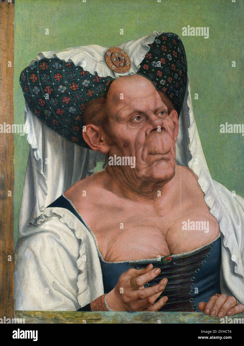 Quentin Massys The Ugly Duchess - Stock Image
