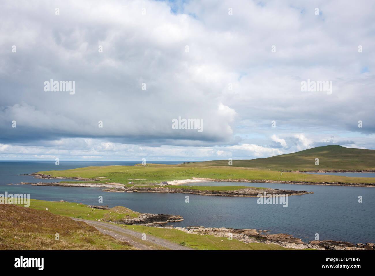 Isle of Noss, Shetland Isles, Scotland, UK - Stock Image