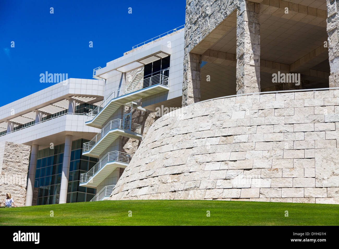 Getty Museum Los Angeles California Modern Architecture Detail