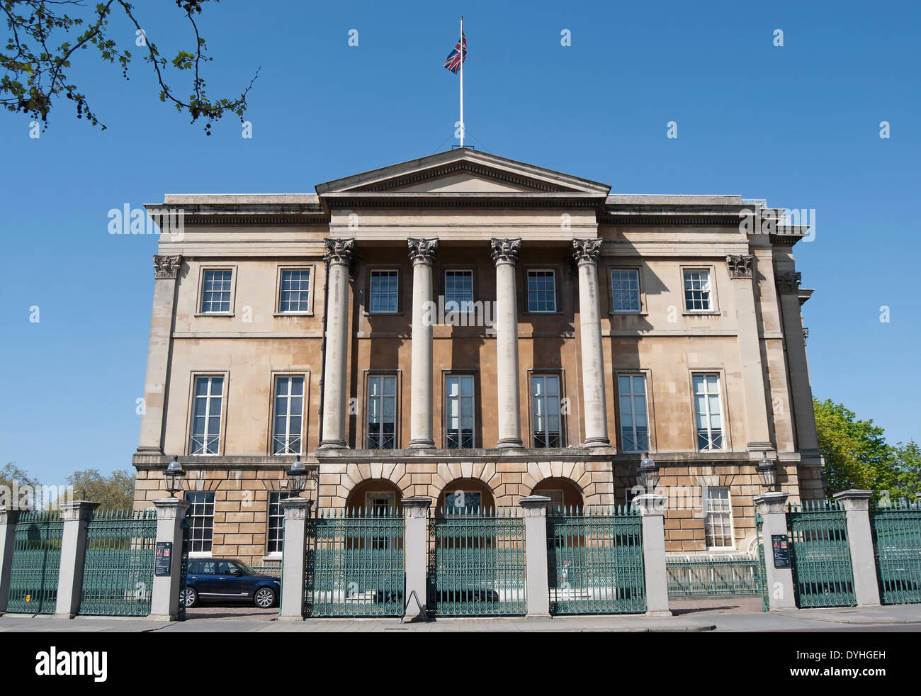apsley house, home of the duke of wellington and now a museum, hyde park corner, london, england - Stock Image