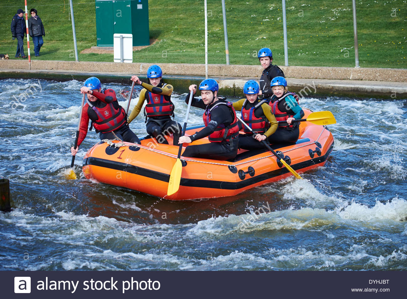 British Rafting National Selections February 2018 Holme ...