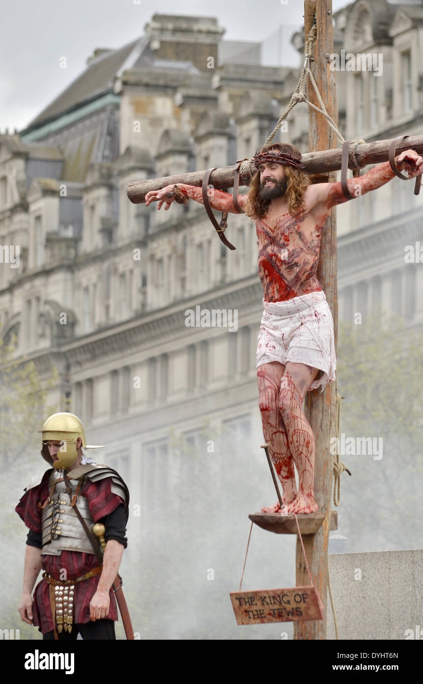 Son of god crucifixion