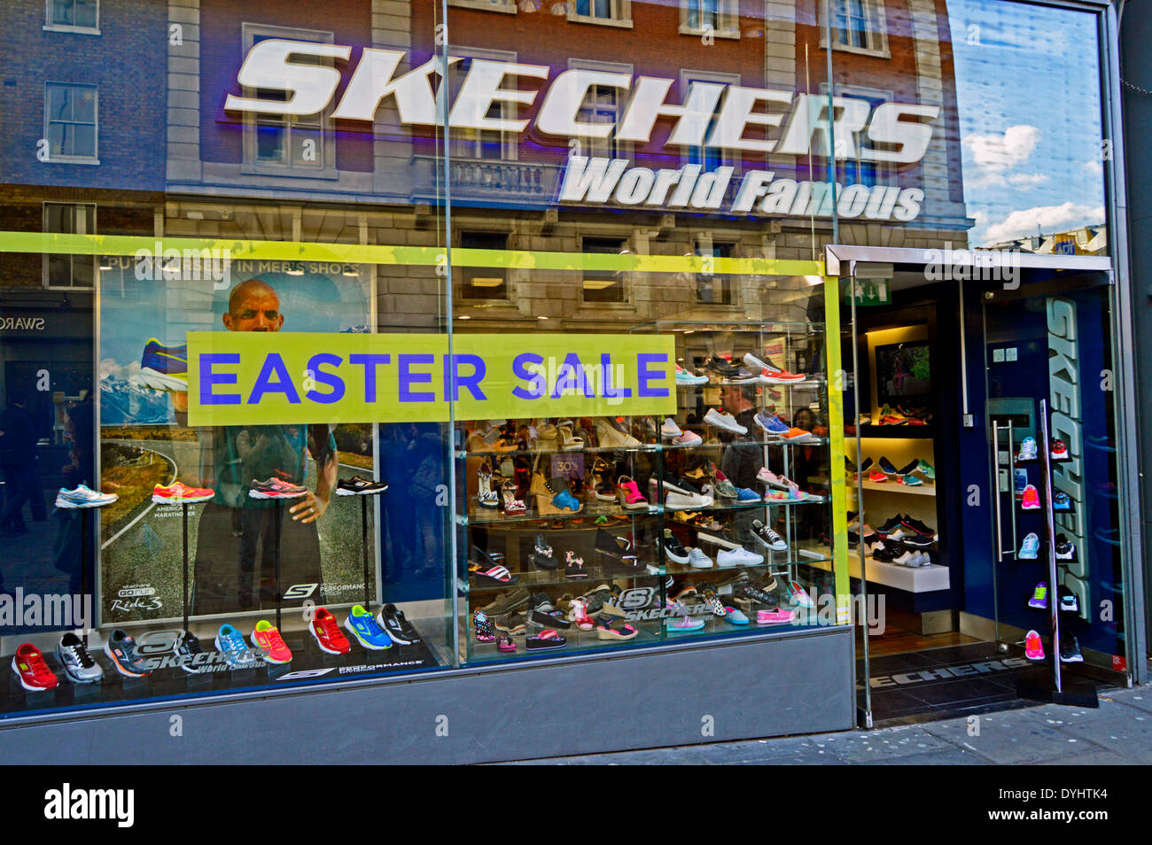 Skechers store, Covent Garden, West End