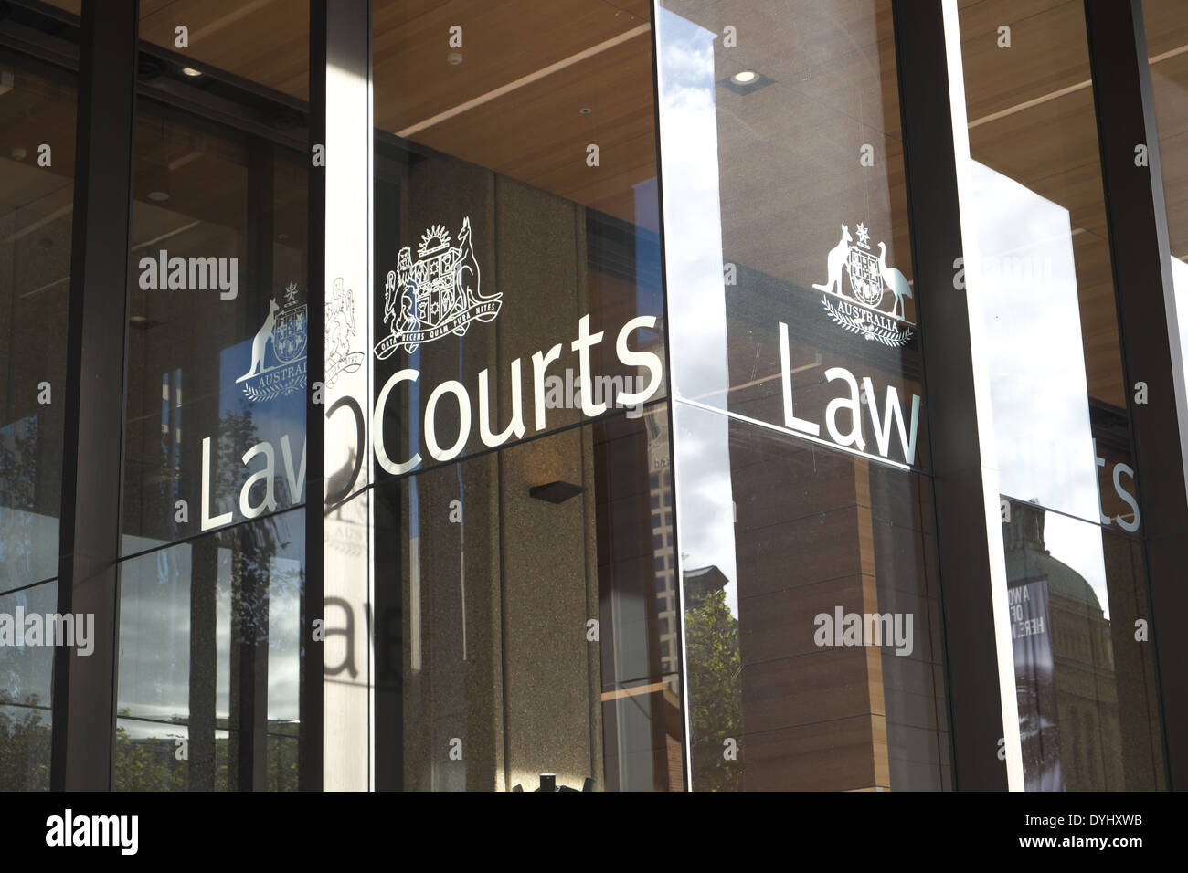 Law Courts, Supreme court of new south wales,queens square,sydney - Stock Image
