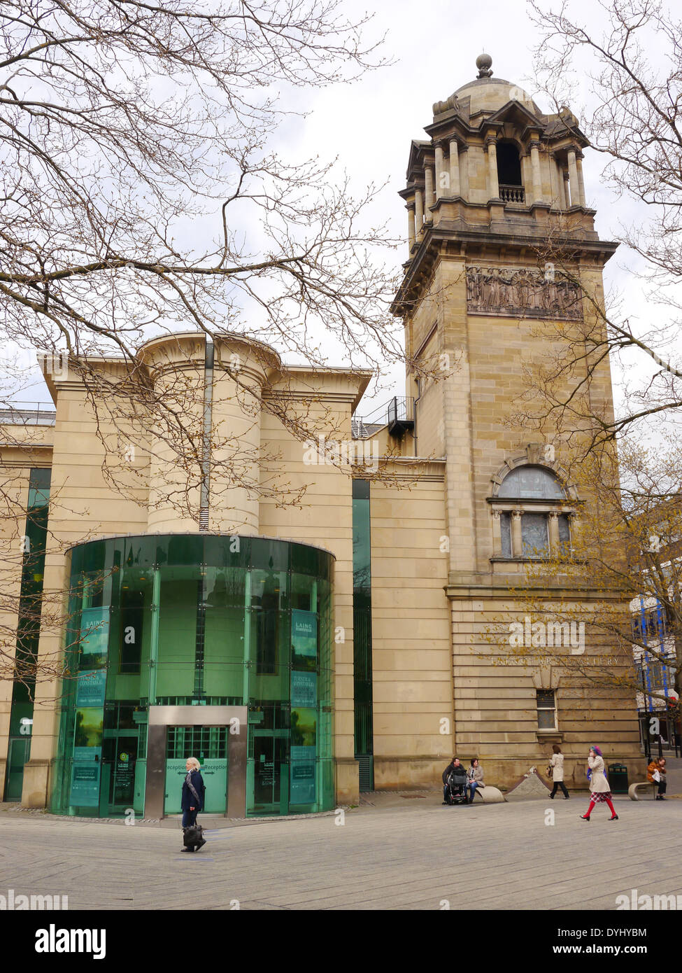 The architecturally and culturally significant, Laing art gallery, John Dobson Street, Newcastle upon Tyne, England, Stock Photo