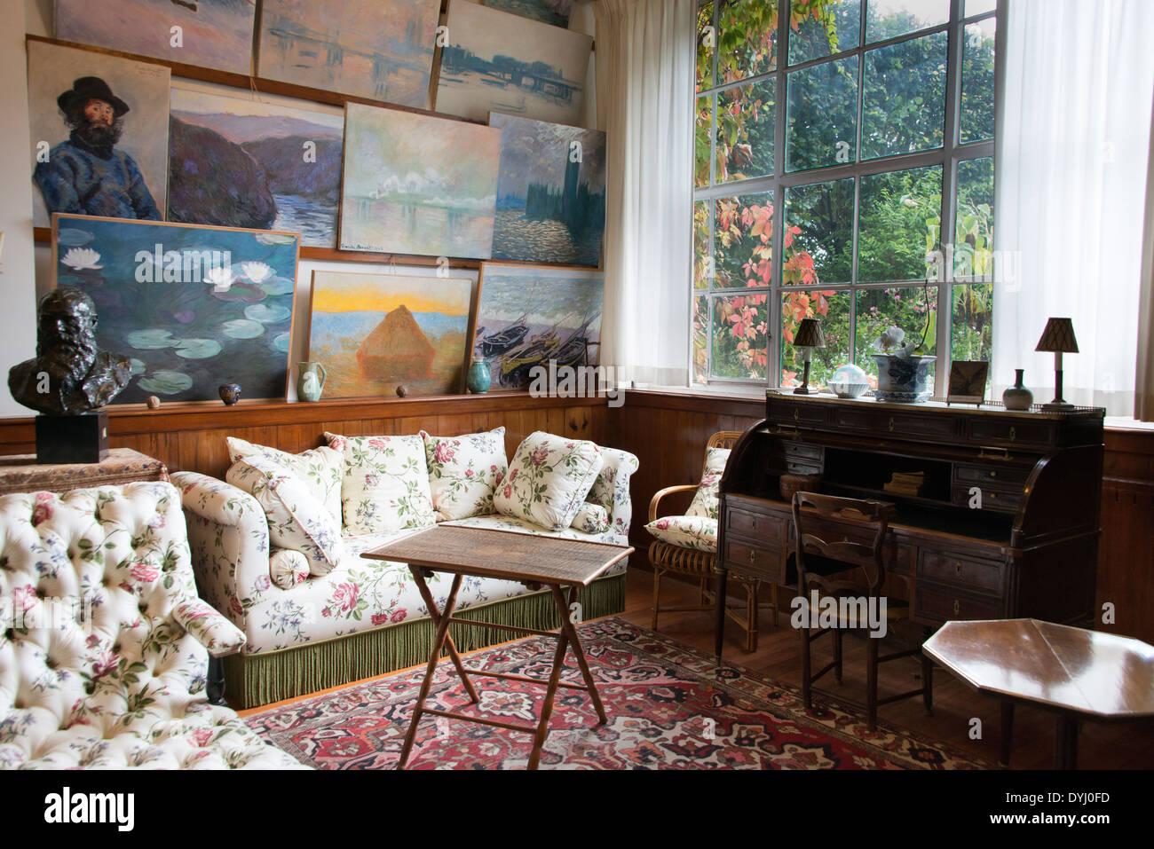 Monet House Interior Stock Photos & Monet House Interior Stock ... on