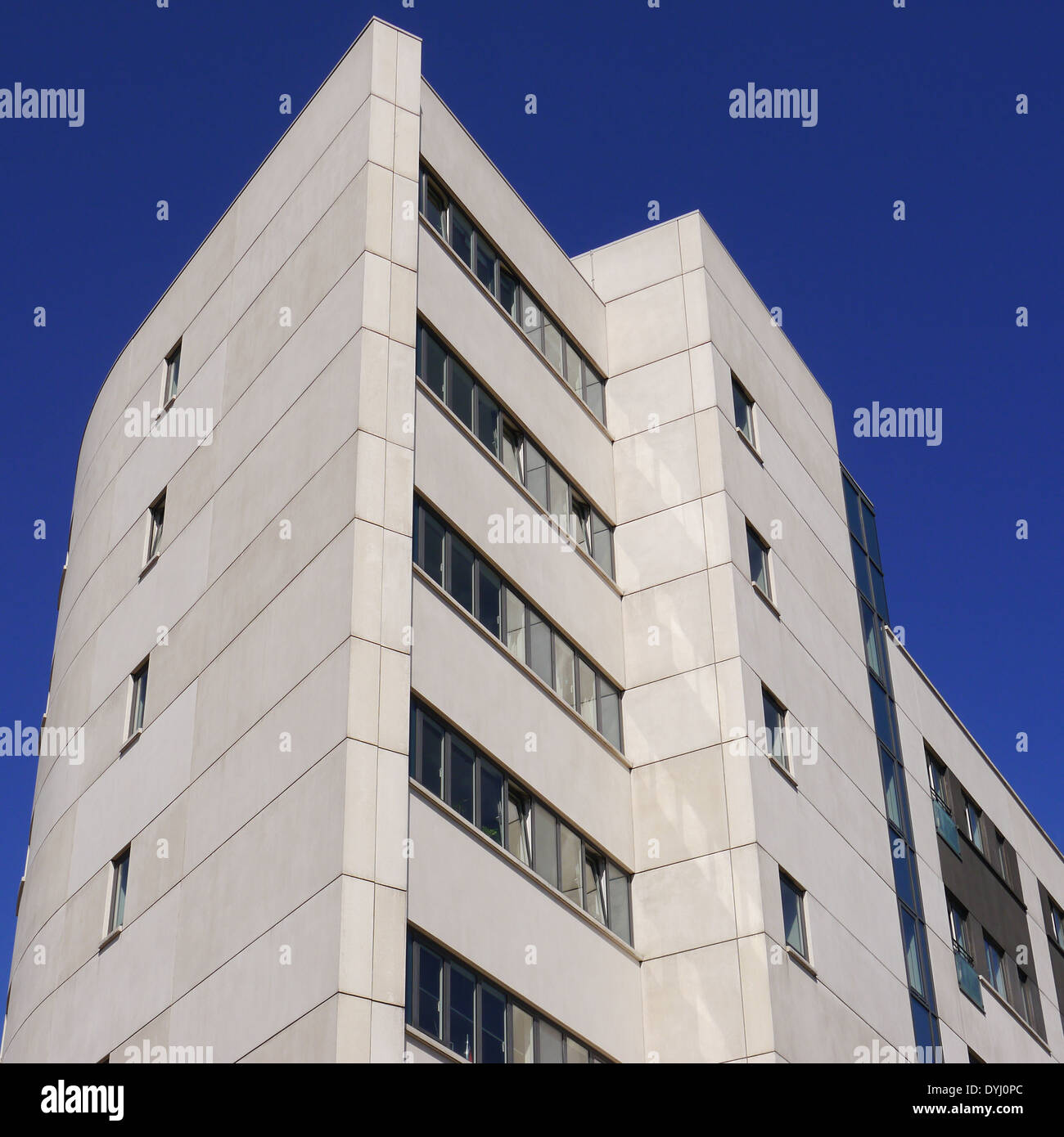 Partial view of Citygate office complex, Bath Lane / St. James' Boulevard, Newcastle upon Tyne, England, UK - Stock Image