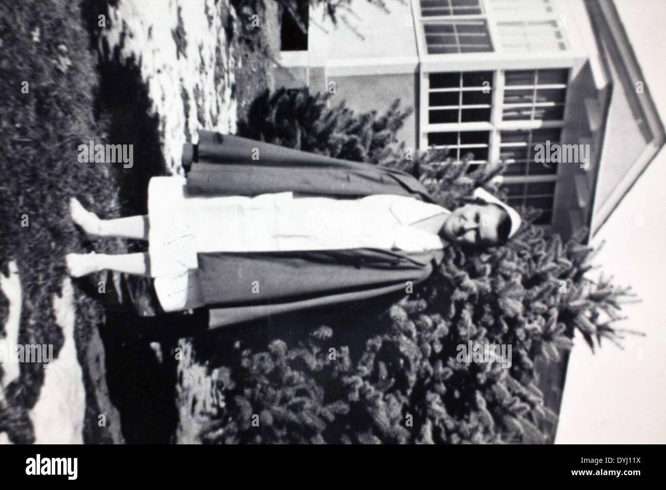 Gibbons 000072 Army Nurse Corps Denver 1938 Mellie Kenner - Stock Image