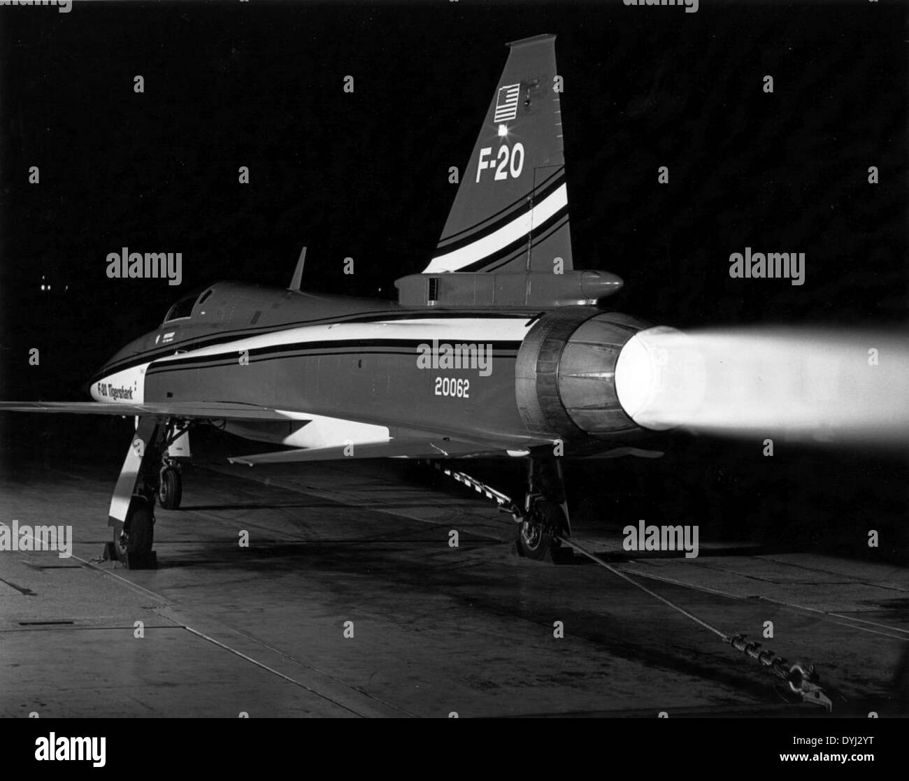 Northrop F-20 20062 Stock Photo