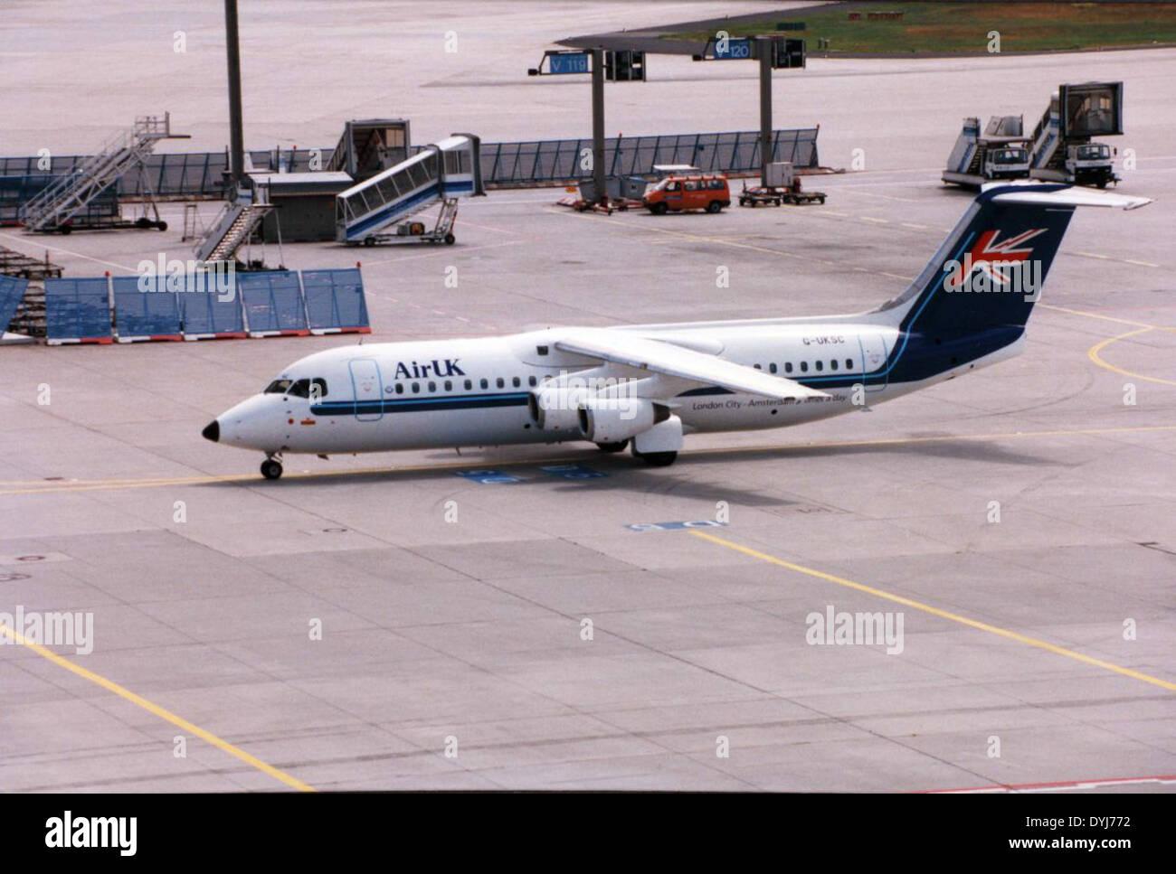 BAe-146-300 - Stock Image