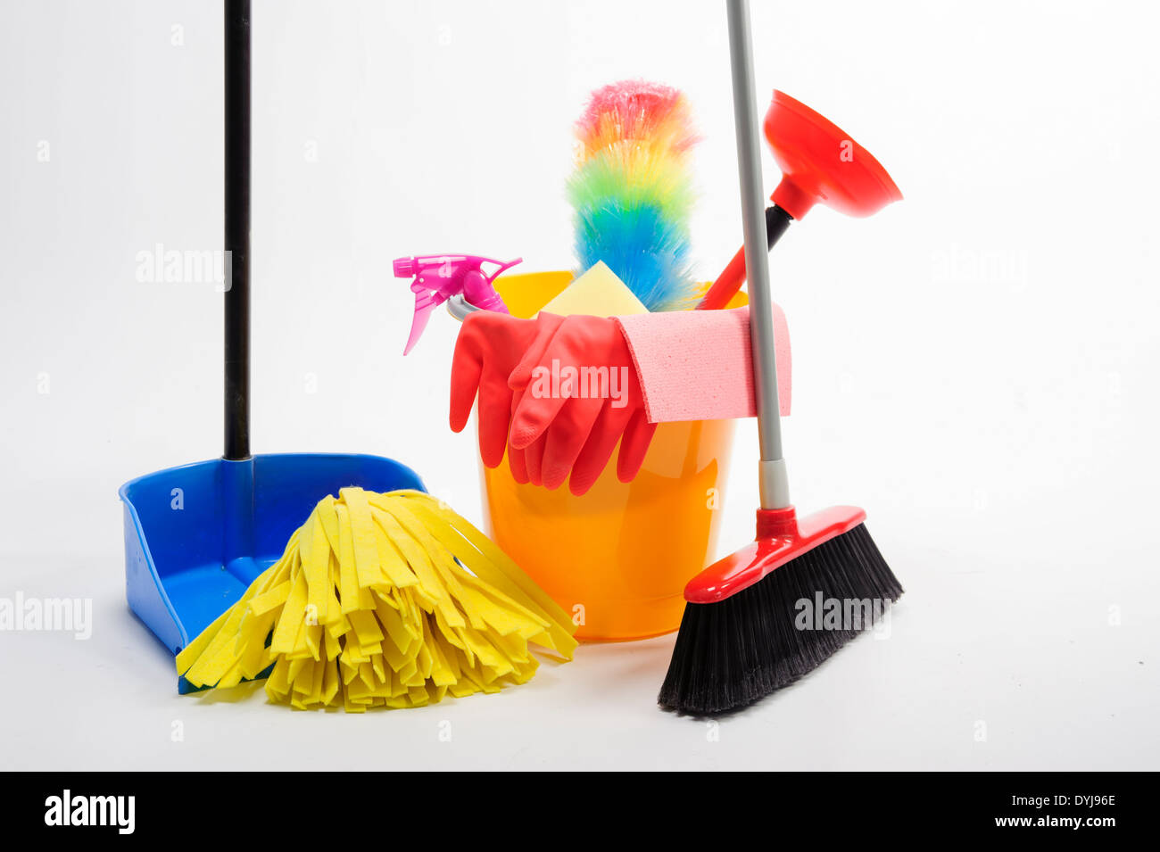 Clean tools - Stock Image
