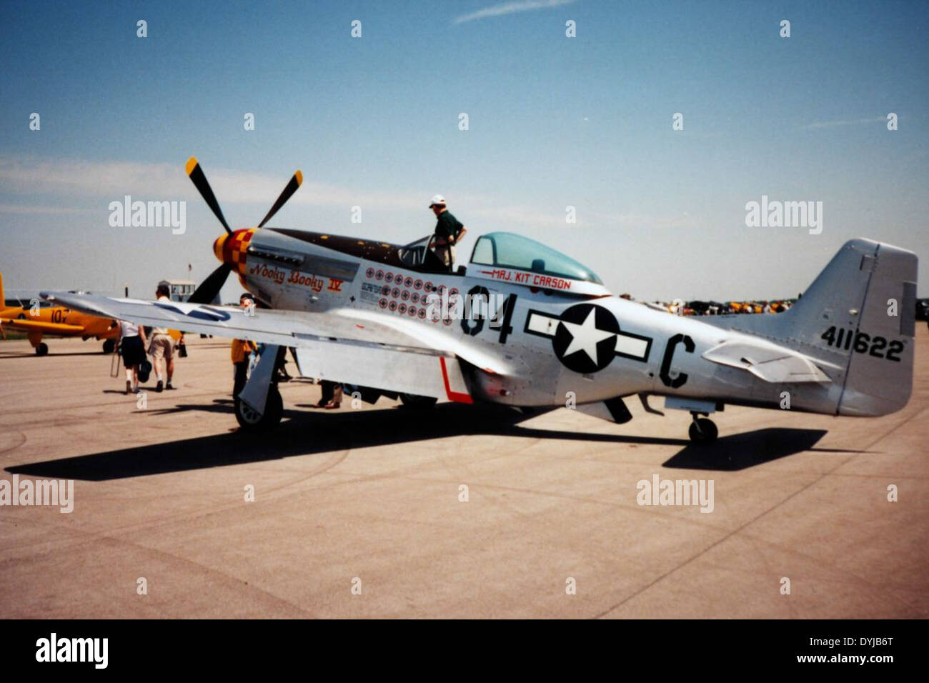 North American P-51 - Stock Image