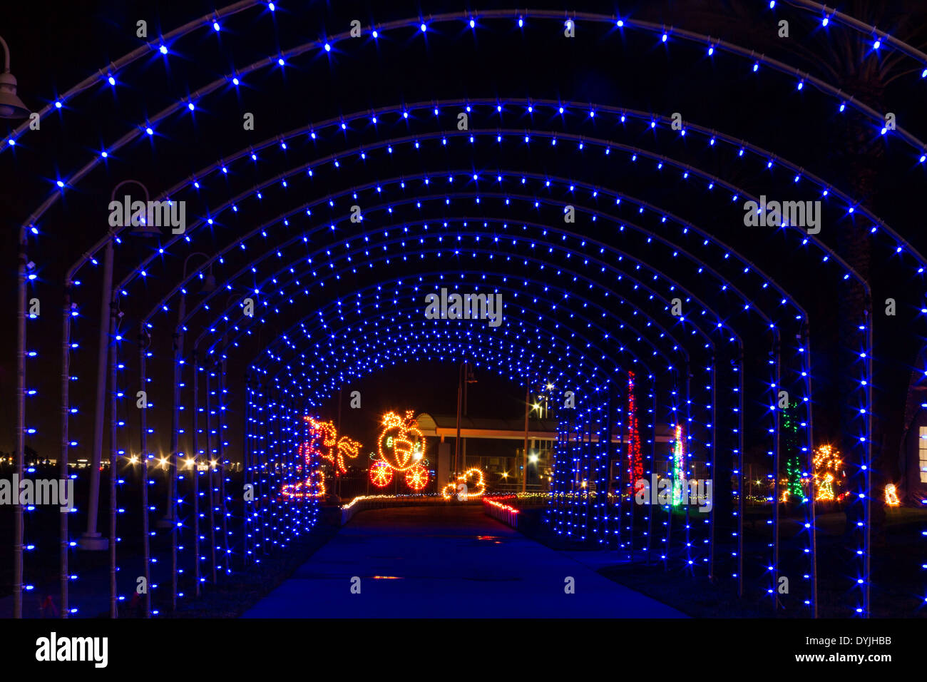Galveston Christmas Lights
